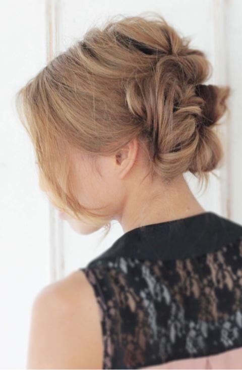 ... 前髪なし編 結婚式ヘアセット